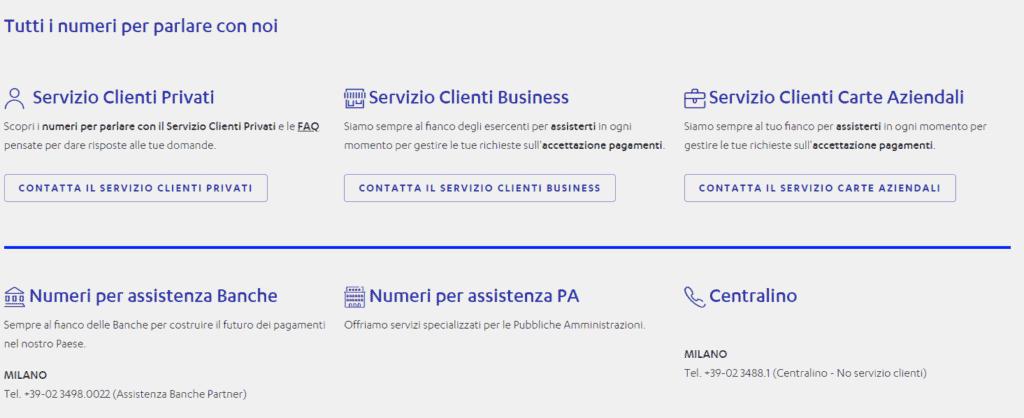 screen nexi assistenza clienti