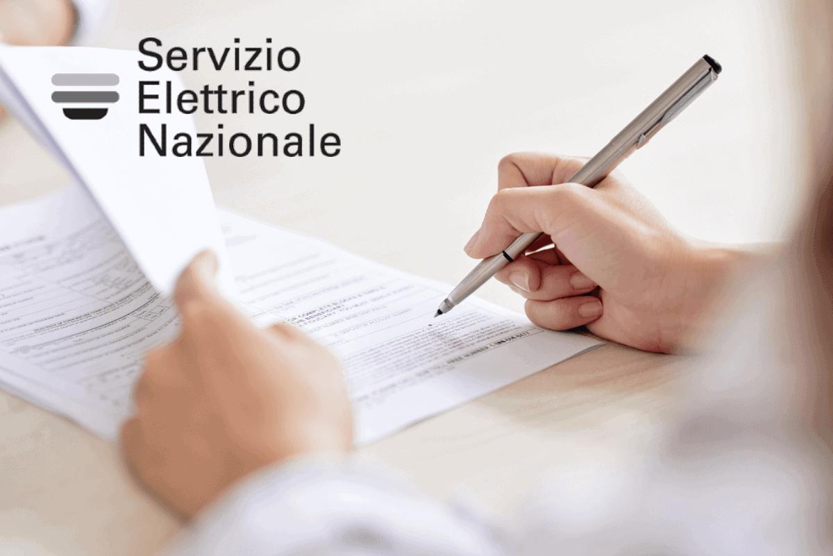 logo servizio elettrico nazionale